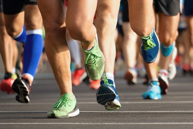 Photo: marathon runners