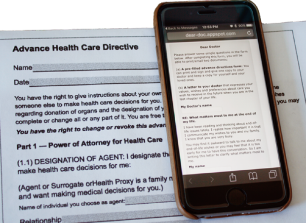 Letter to Advance Directives