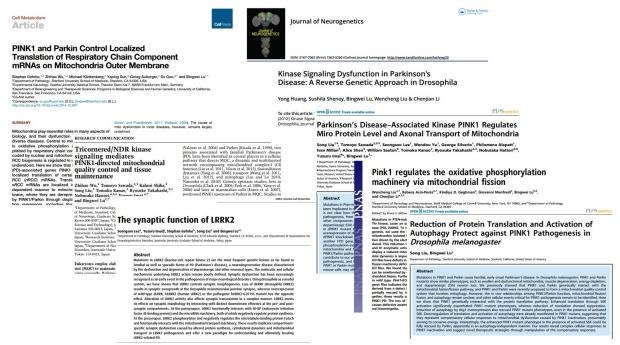Parkinson's papers