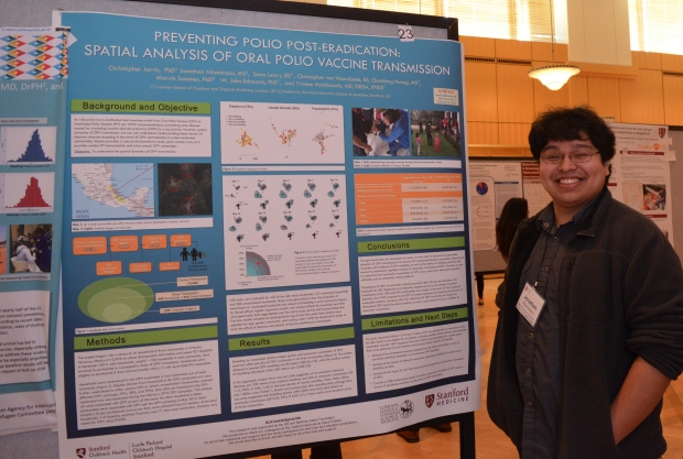 Jonathan Altamirano at the GH Research Convening