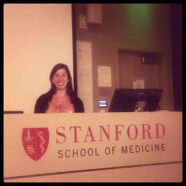 Sara Bolivar Wagers at Stanford