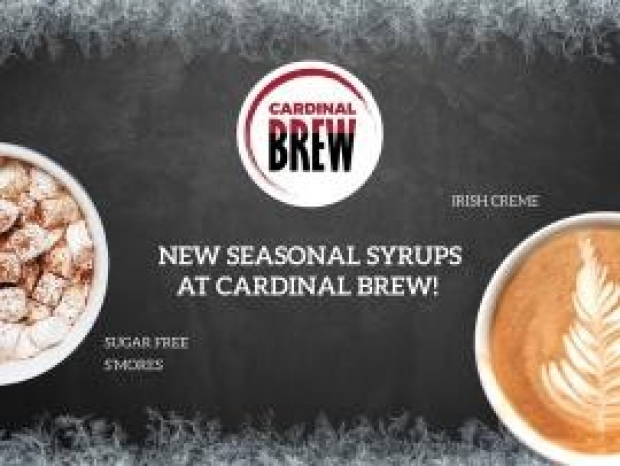 Seasonal flavors now available at Cardinal Brew   Redwood City