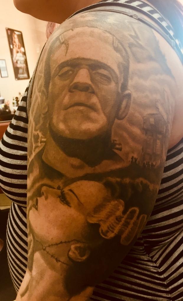 Frankenstein Tatoo