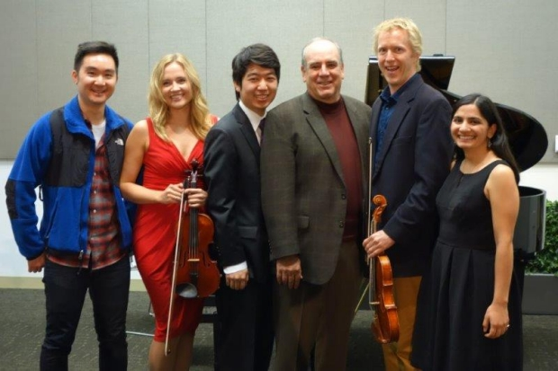 Members of the Stanford Medicine Music Network