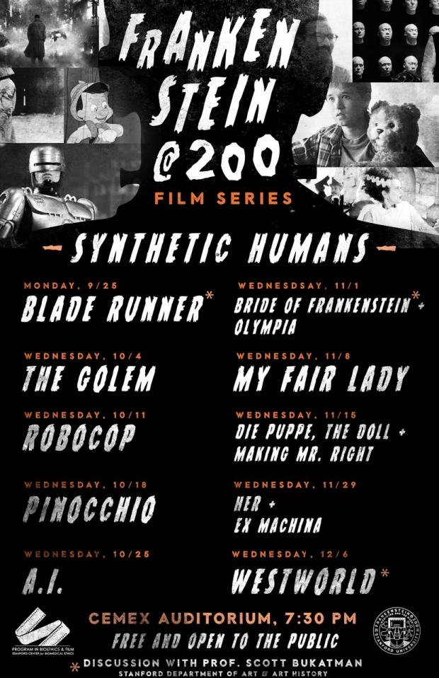 Frankenstein@200 Film Series