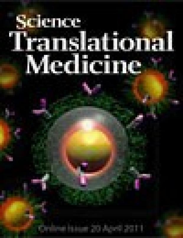 Science Translational Medicine 2011;3(79) cover
