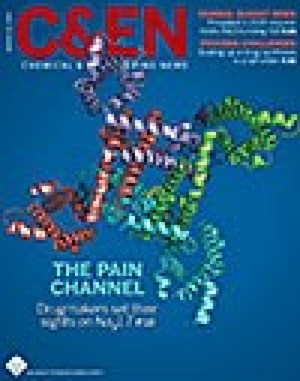Chemical and Engineering News cover