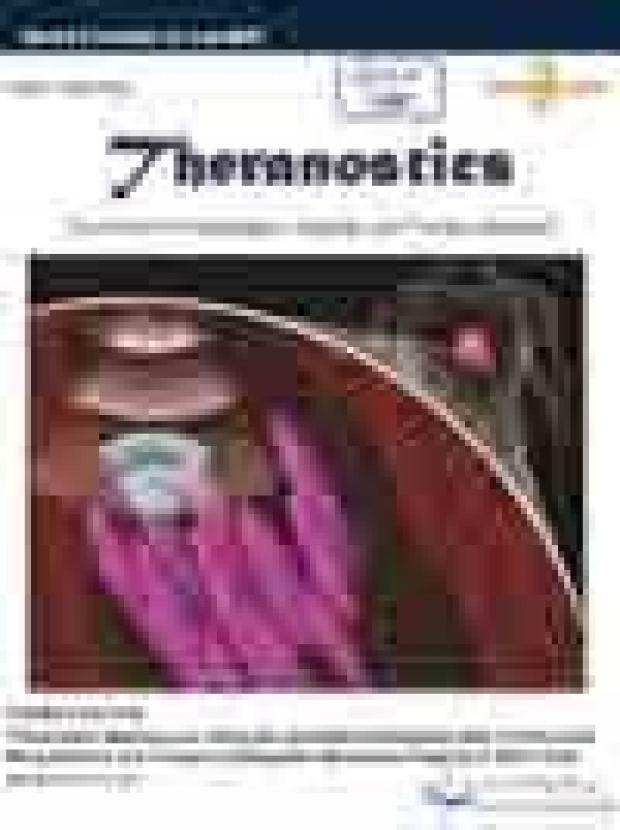 Cover of Theranostics, 2015;5(6)