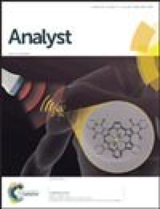 Cover of Analyst, 2015;140(11)