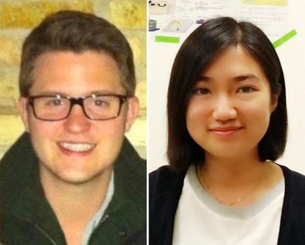 Photo of Joshua Cates and Li Tao