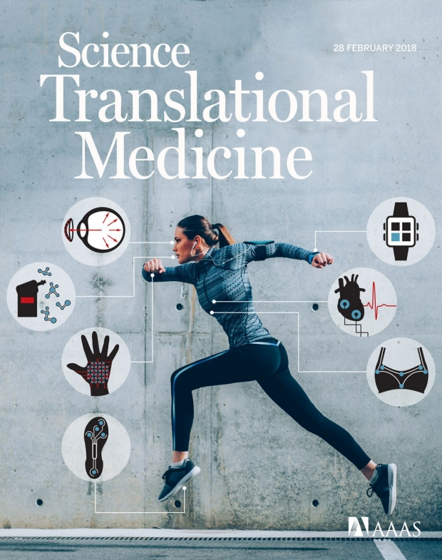 Cover for Science Translational Medicine, February 28, 2018