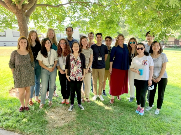 Monje Lab Summer 2021 Happy Hour Group
