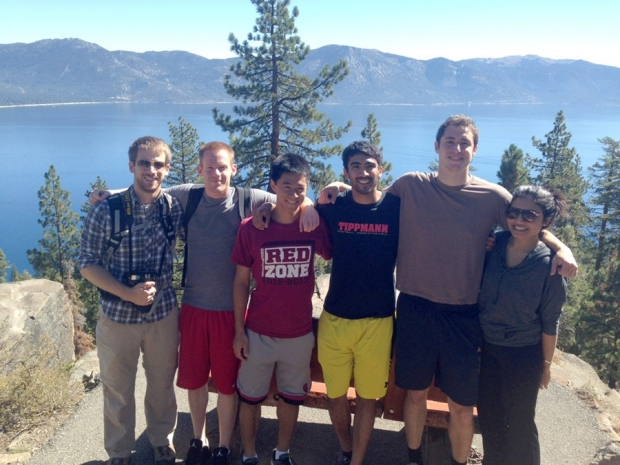 Monje Lab Lake Tahoe Lab Retreat, 2014