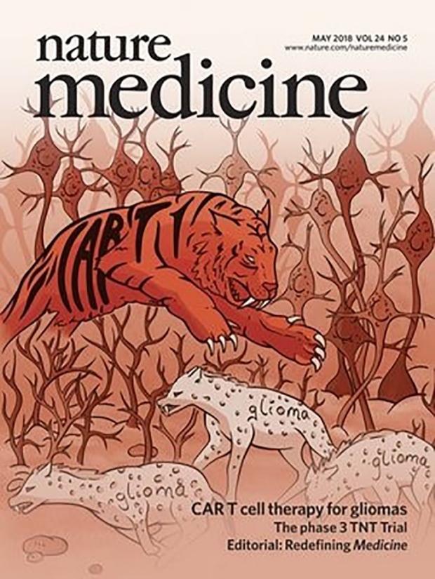 Nature Medicine Cover 2018