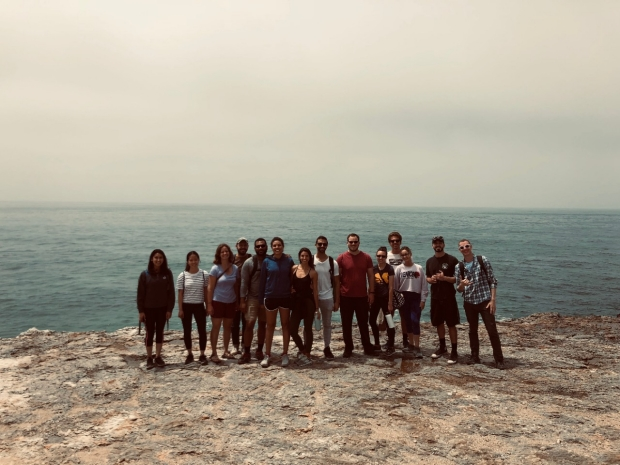 Lab outing at old cove trail, June 2019