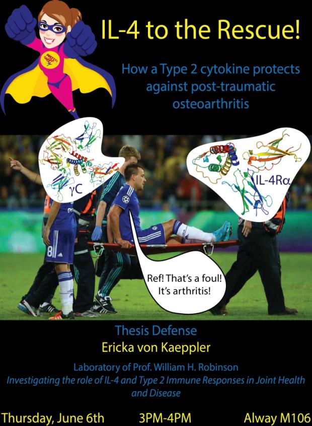 von Kaeppler Thesis Defense poster