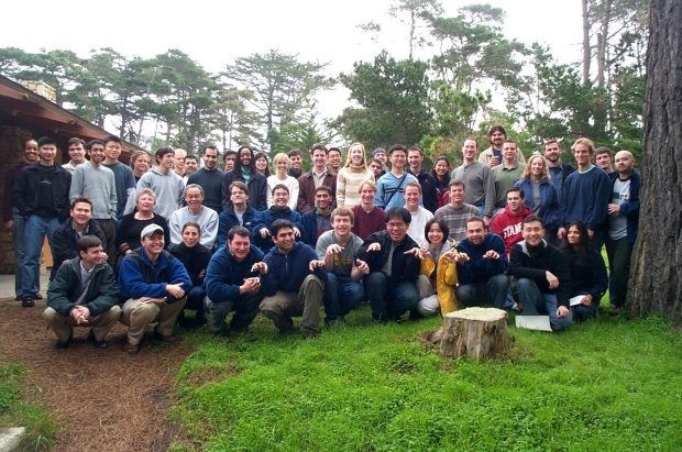group shot of mstp community at 2004 annual conference