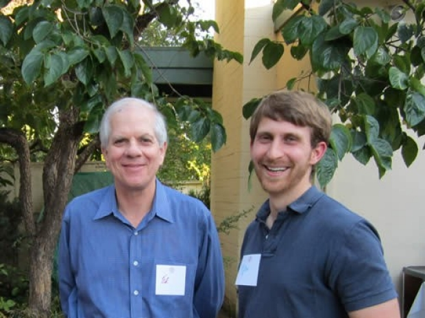 Ed Engleman & Tyler Prestwood at the welcome reception