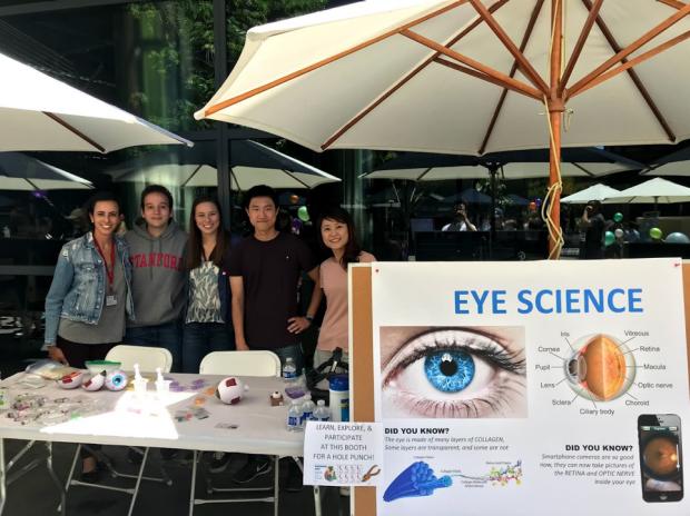 Myung Lab at Bio-X Kid's Day 2018