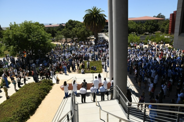 Black Lives Matter Stanford 2020 Photography by Steve Fisch