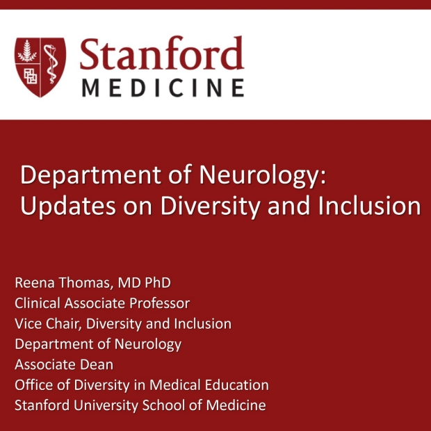 Department of Neurology: Updates on Diversity and Inclusion