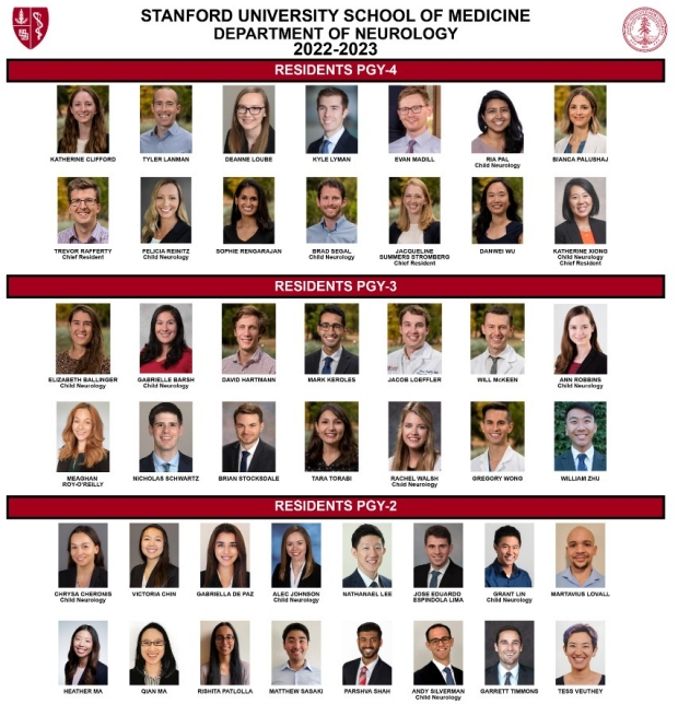 Neurology Resident Face Page