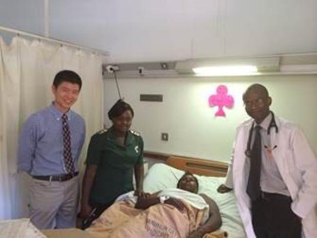 Michael Ke Zimbabwe Global Health Scholar Patient Photo