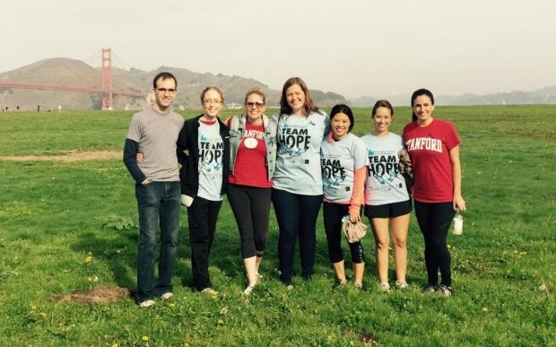 Hunting Disease Association of America - Stanford Team Hope