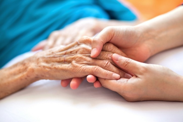 Holding hands, Dementia, Compassion, Care