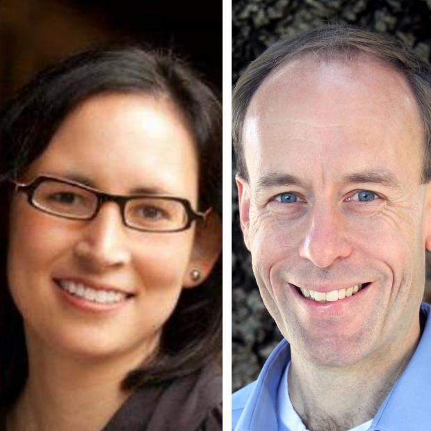 Allison Okamura and Maarten Lansberg