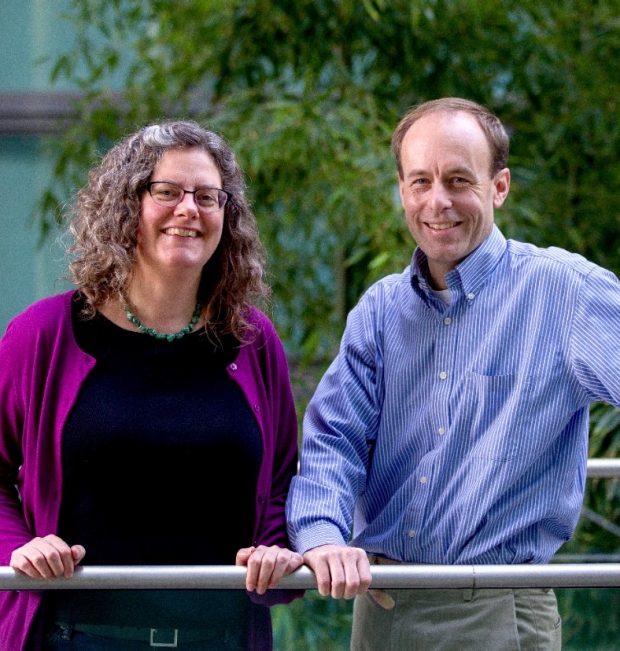 Marion Buckwalter and Maarten Lansberg