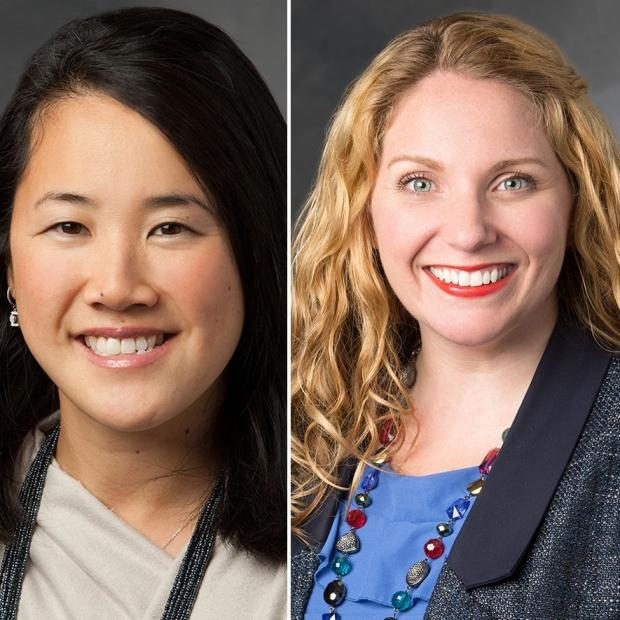 Drs. Sharon Sha and Veronica Santini
