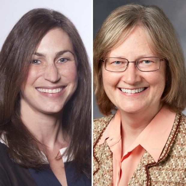 Jacinda Sampson, MD, PhD and Carly Siskind, MS, CGC
