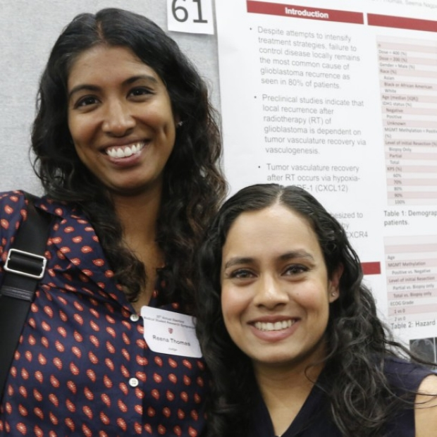 Reena Thomas, MD, PhD and Judith Pelpola