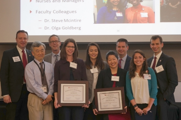 CELT graduation for team led by Dr. Laurice Yang, March 2018