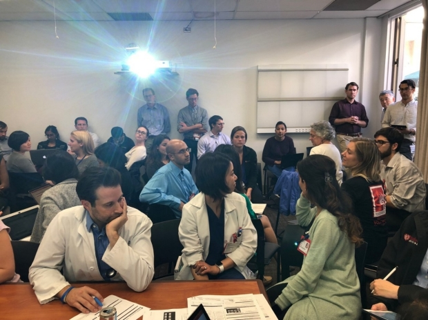 Teams of Stanford Neurology residents and fellows select key drivers and plan interventions to make improvement