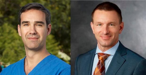 Dr. Juan C. Fernandez Miranda and Dr. Scott Soltys