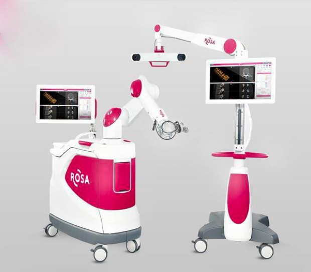 Stanford epilepsy surgery ROSA robot image