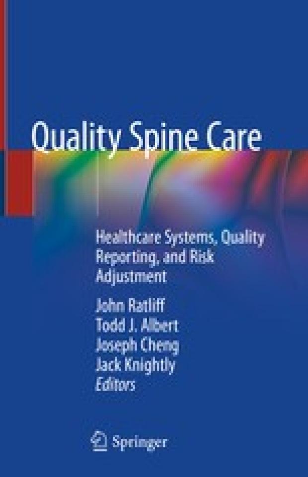 Quality spine care Jonn Ratliff