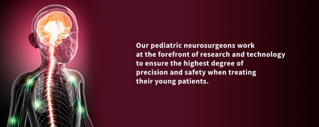 Stanford Pediatric Neurosurgery banner image with quote