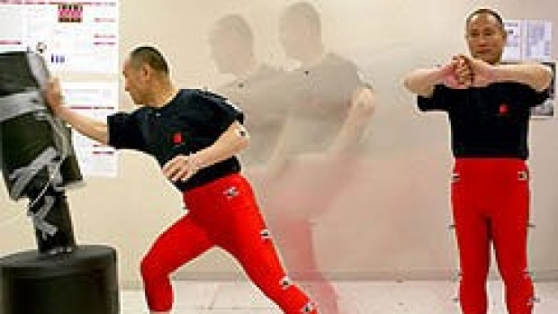 Tai chi master studied for power to control body