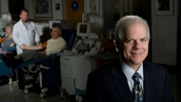 Research at blood center led to cancer vaccine