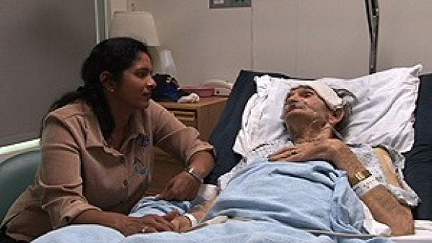 Veteran shines in movie about his palliative care