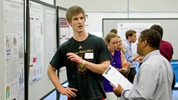 Students present their research at annual symposium