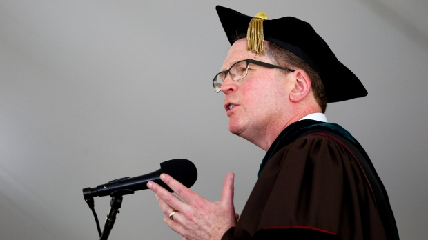 Prepared text of commencement remarks by Lloyd Minor