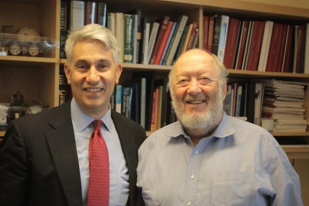 Michael Longaker and Irving Weissman
