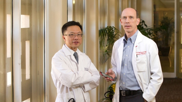 Alan Yeung and Michael McConnell