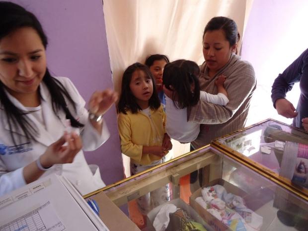 Polio vaccination in Mexico