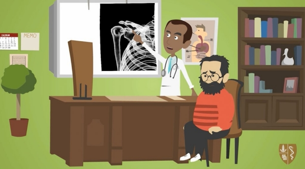 Continuing medical education animation