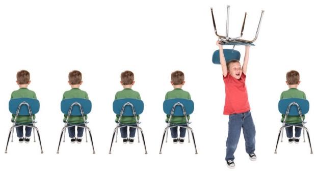 Interactions between attention-grabbing brain networks weak in ADHD